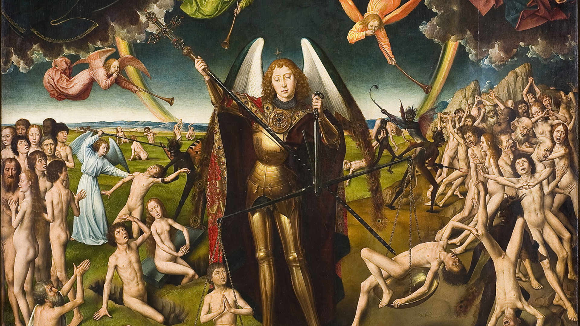 Hans Memling - Saint Michael the Archangel