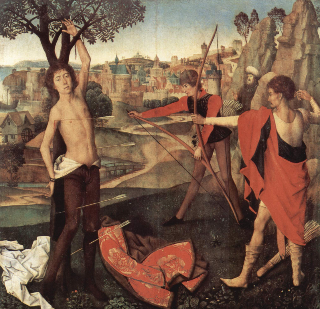 Hans Memling The Martyrdom of St Sebastian