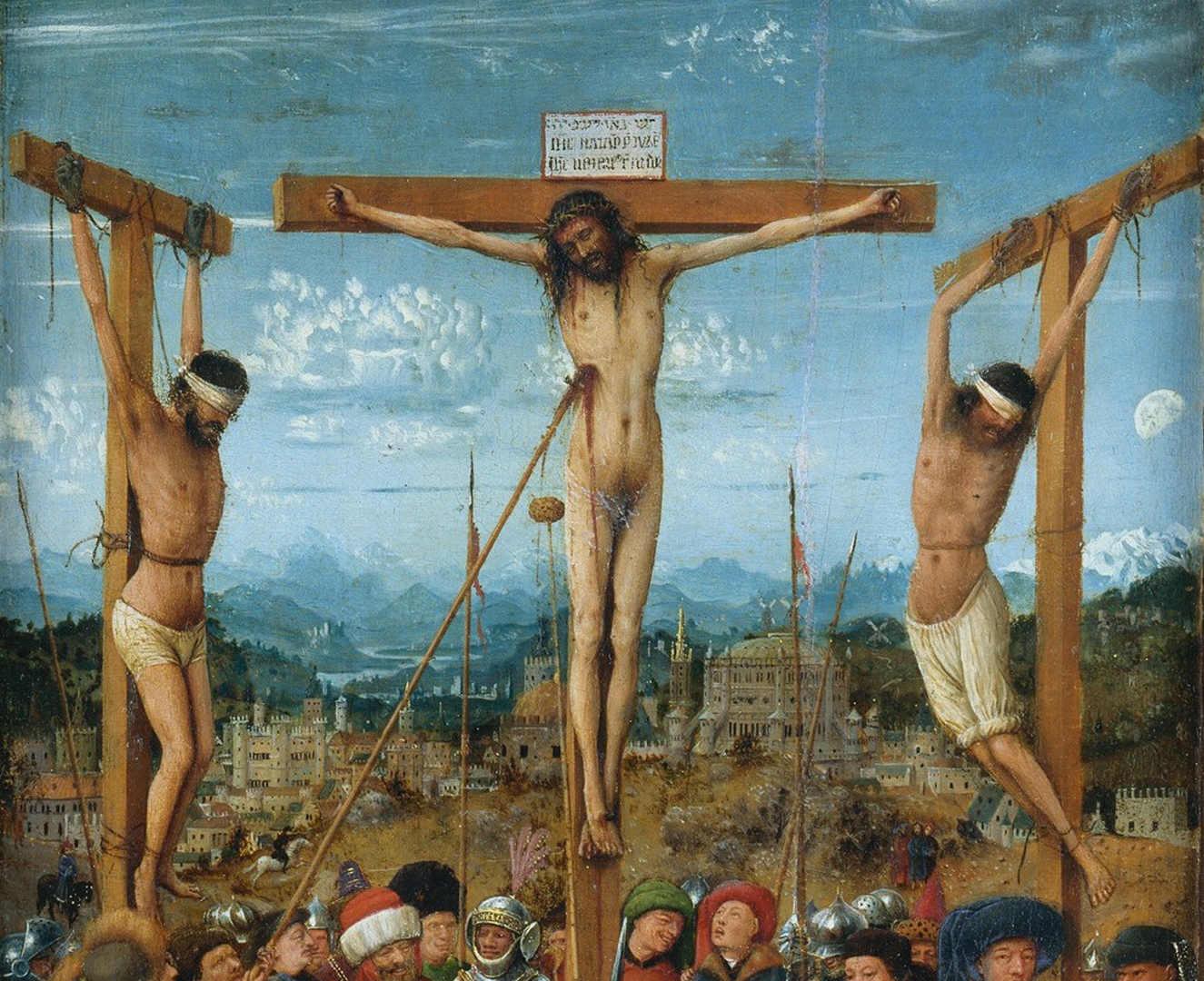 Jan van Eyck - The Crucifixion