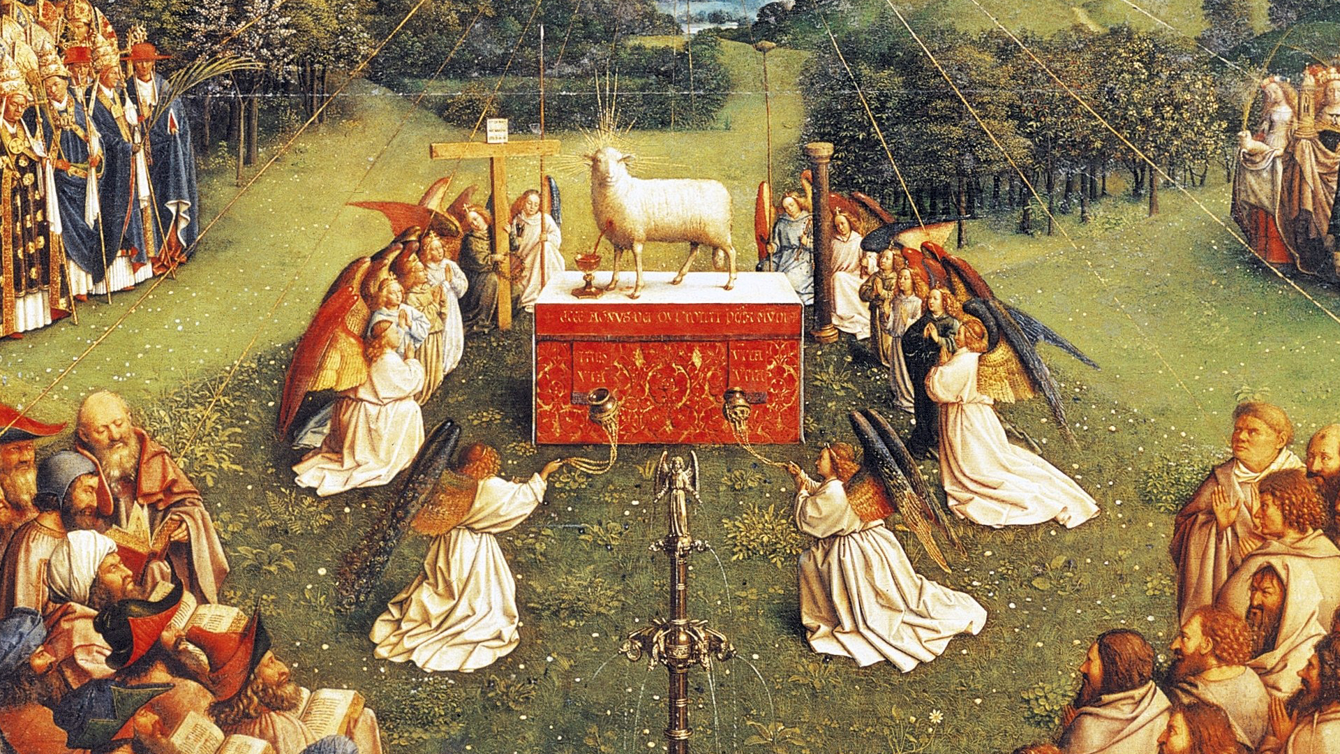Jan van Eyck - The Lamb of God
