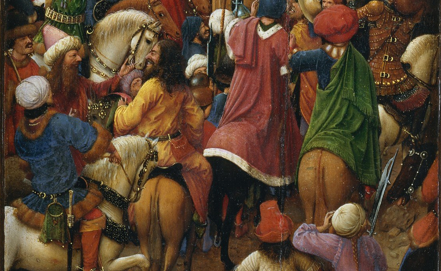 Jan van Eyck - The Righteous Judges