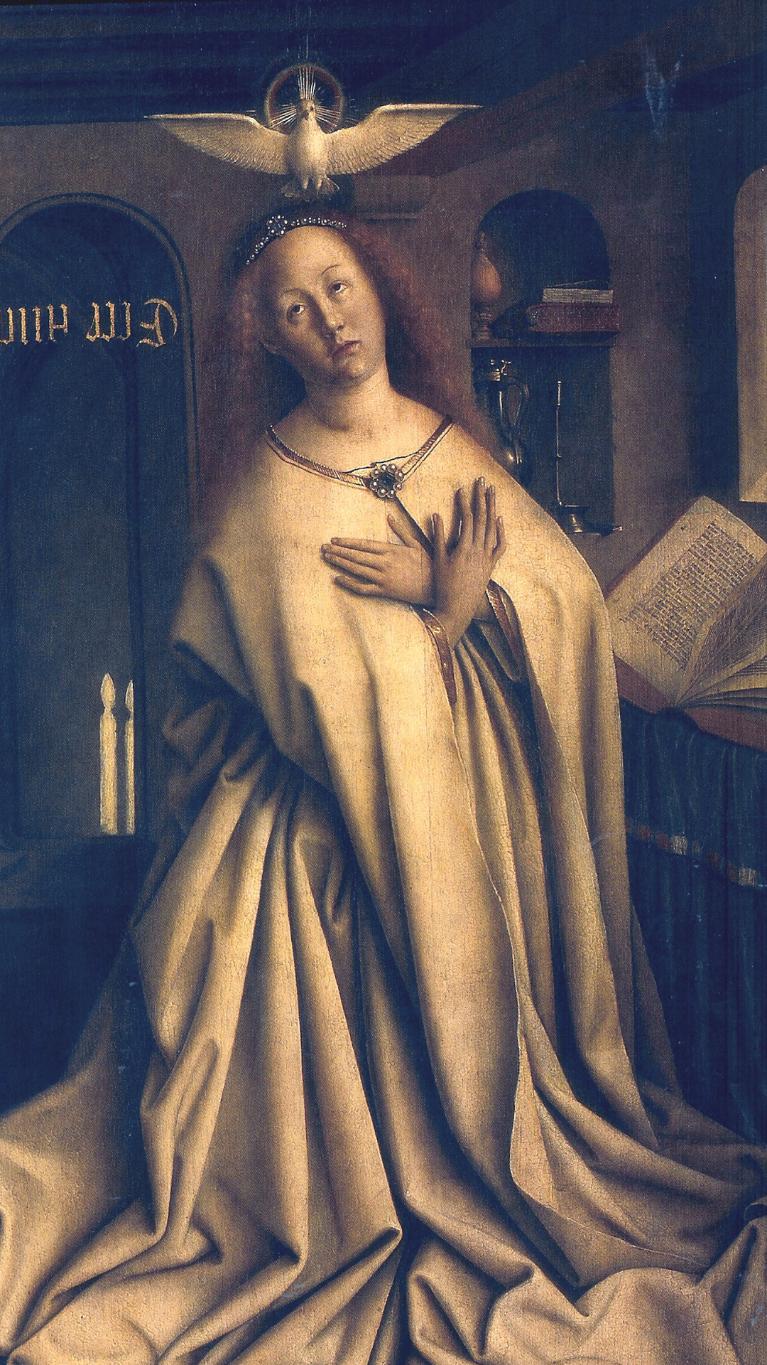 Jan van Eyck - The Virgin Annunciate