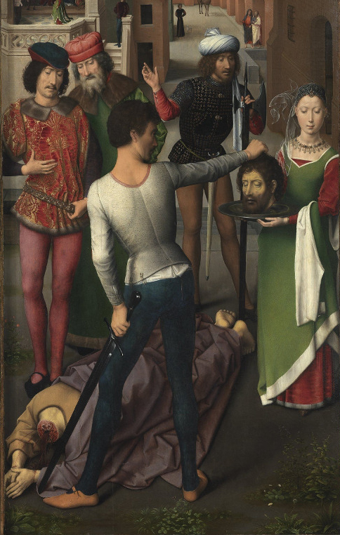 Hans Memling St Johns Altarpiece 2