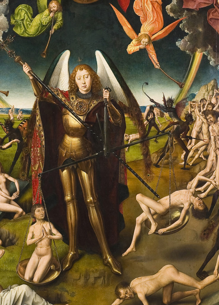 Hans Memling The Last Judgement bottom