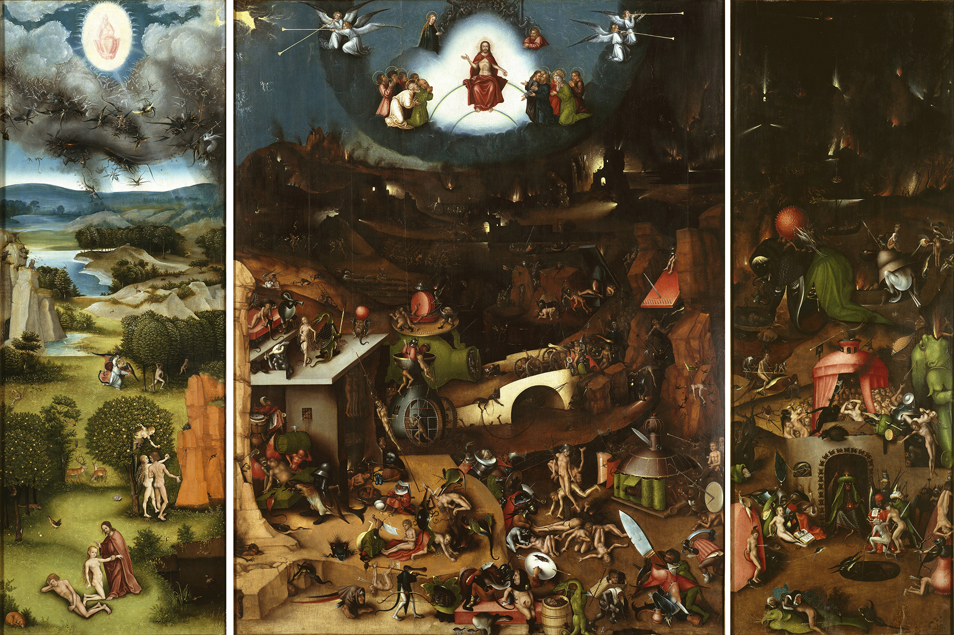 Jheronimus Bosch Last Judgment