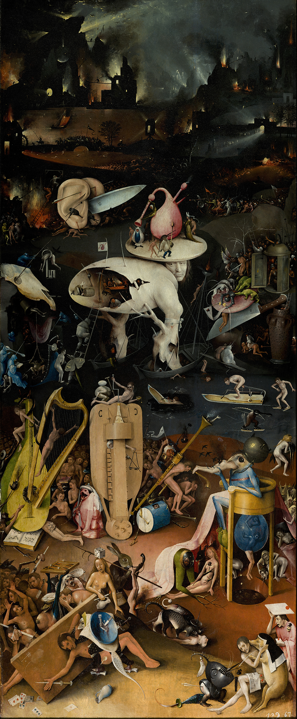 The Garden of Earthly Delights Jheronimus Bosch right panel