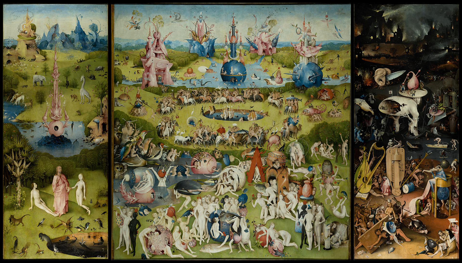 The Garden of Earthly Delights Jheronimus Bosch